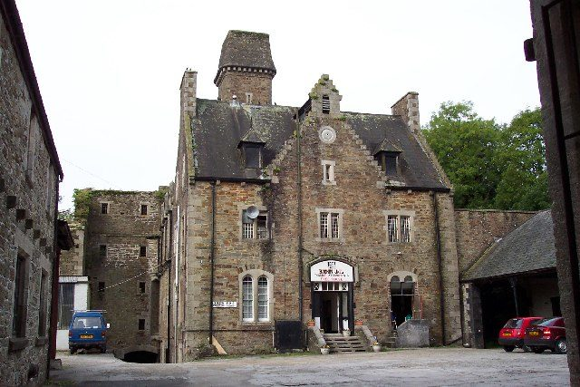 The Governor's Hall at Bodmin Jail overlooks the courtyard. Author:Ron Strutt CC BY-SA 2.0