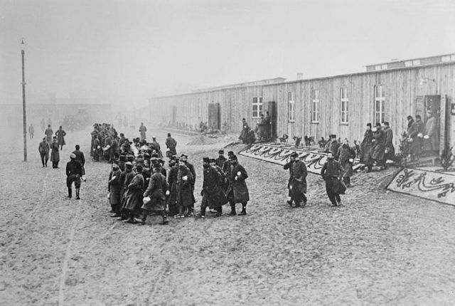 Many French soldiers were captured and made into POWs during the war.