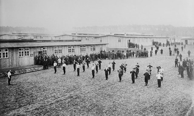 Among others, the camp housed French and British POWs during the conflict.