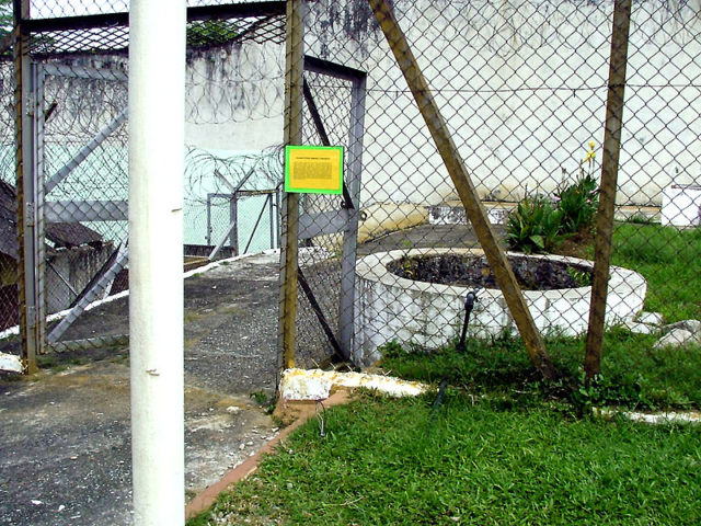 The 'General Yamashita' well that many believe is haunted