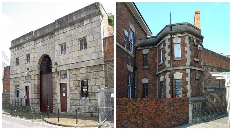 Left - The gatehouse. Author: Neil Owen - CC BY-SA 2.0 / Right - Author: bazzadarambler - CC BY 2.0