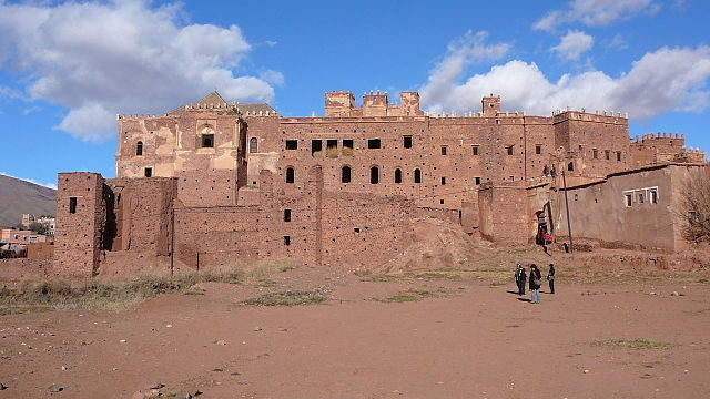 Exterior view of the kasbah today – Author: Bzgru CC BY-SA 3.0