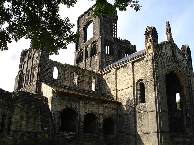 Kirkstall Abbey is one of the most complete Cistercian abbeys in Britain