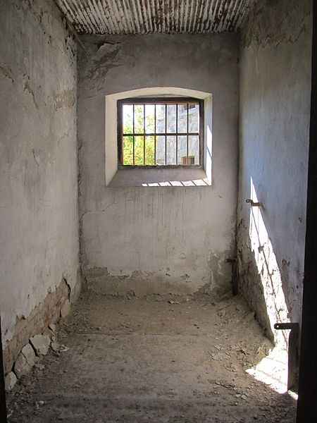 A typical prison cell. Author: Constantin Onu CC BY-SA 3.0 ro