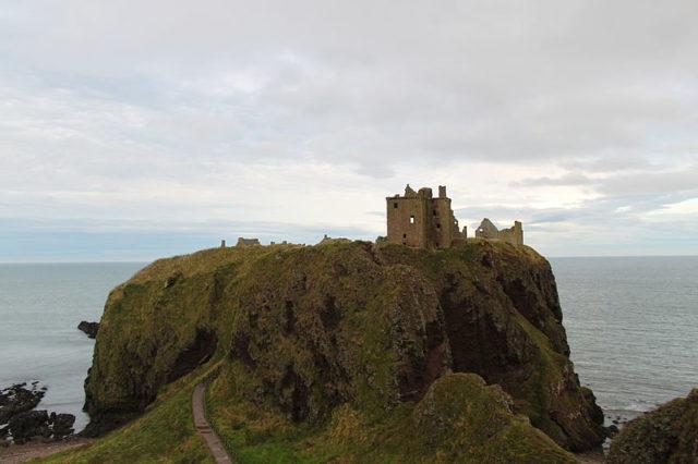 The Castle of Dunnottar. Author: Cédric Bonhomme – CC BY-SA 4.0