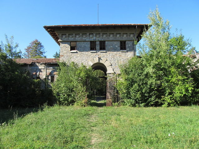 Penitenciarul Doftana – the entrance in 2012. Author: Constantin Onu CC BY-SA 3.0 ro