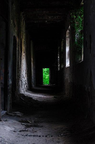 One of the hallways. Author: Daria Virbanescu CC BY-SA 4.0
