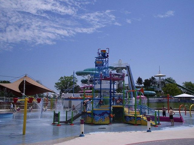 Ontario Place Water Park – Author: Mike Babcock – CC BY 2.0