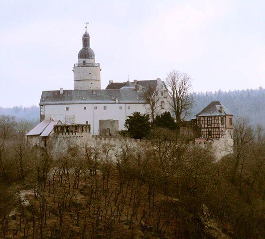 Falkenstein Castle viewed from the Selkesicht – Author: Olaf Böhlk – CC BY-SA 3.0 de