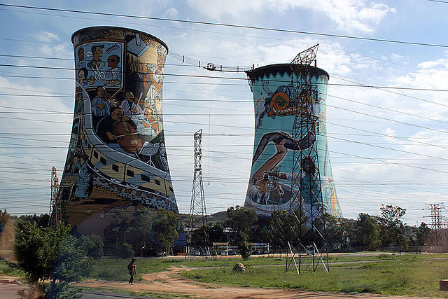 Orlando Cooling Towers in Soweto