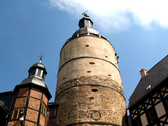 Falkenstein Castle, the Keep – Author: Deirun – CC BY-SA 3.0