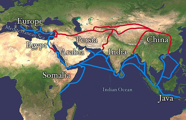 The Silk Road: Trade Routes That Connected Europe, Africa & Asia