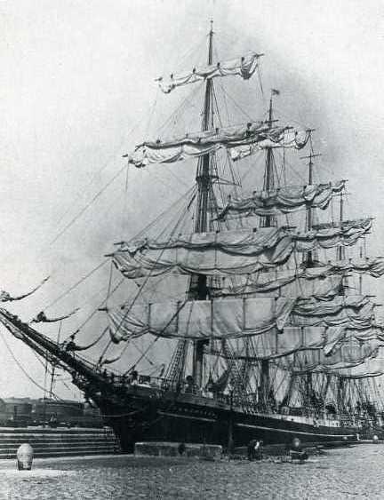 Københaven at dock