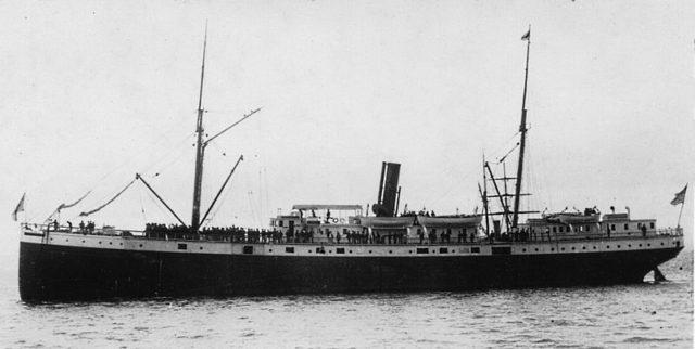 SS Valencia in 1900
