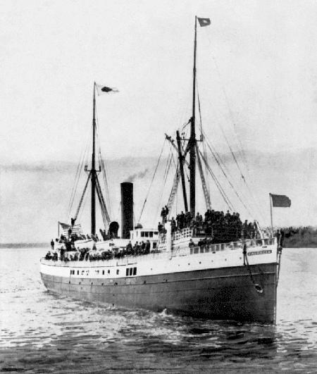 SS Valencia in 1905.