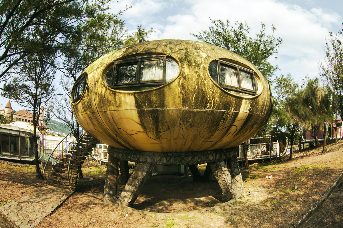 Futuro house in Taiwan. Author: Philipp Chistyakov Photography