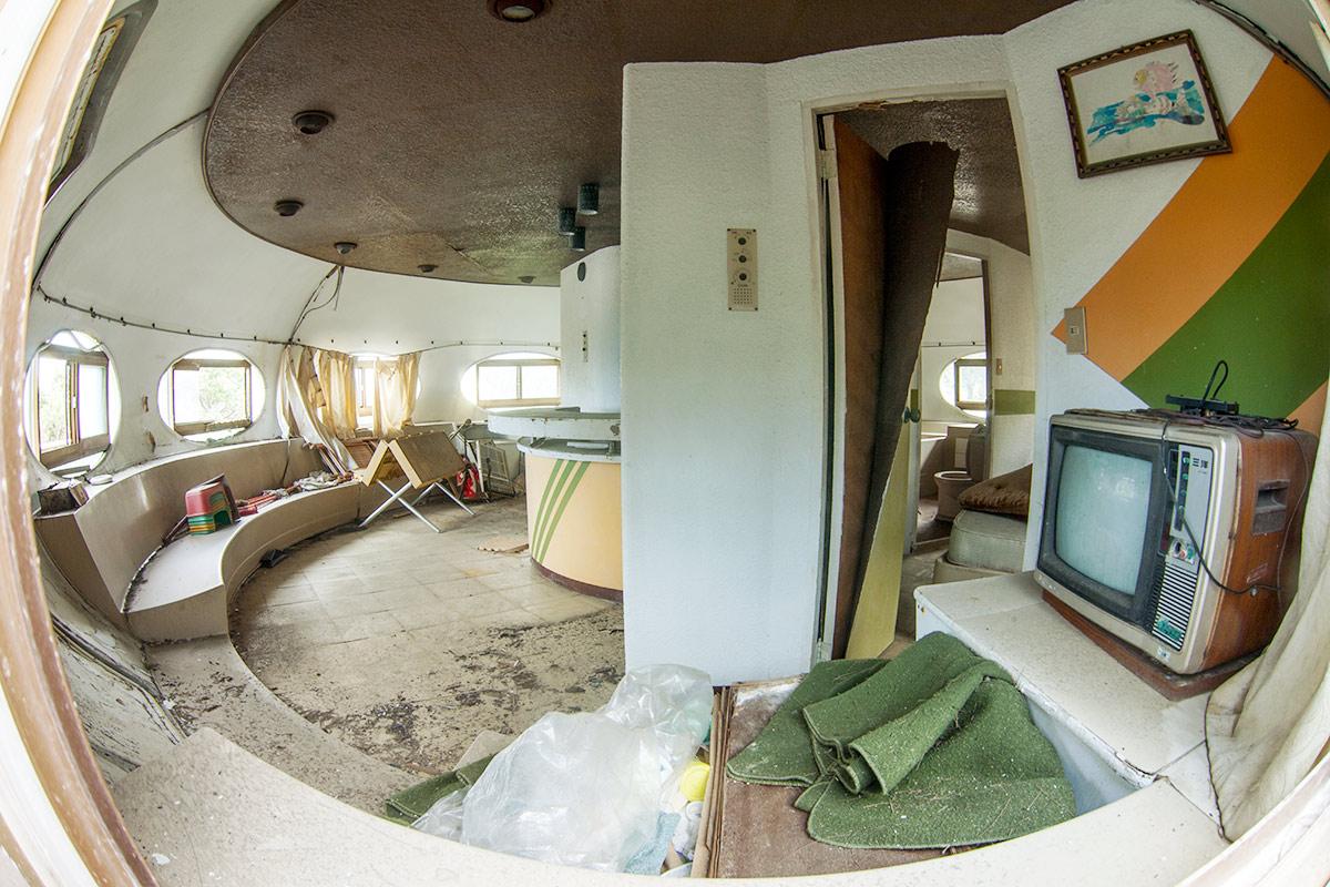 Futuro house interior. Author: Philipp Chistyakov Photography