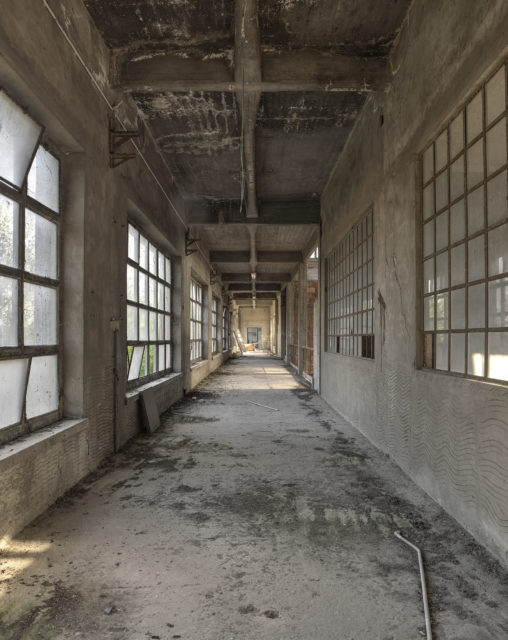 Corridor. Author: Matt Emmett | Forgotten Heritage | www.instagram.com/forgottenheritage