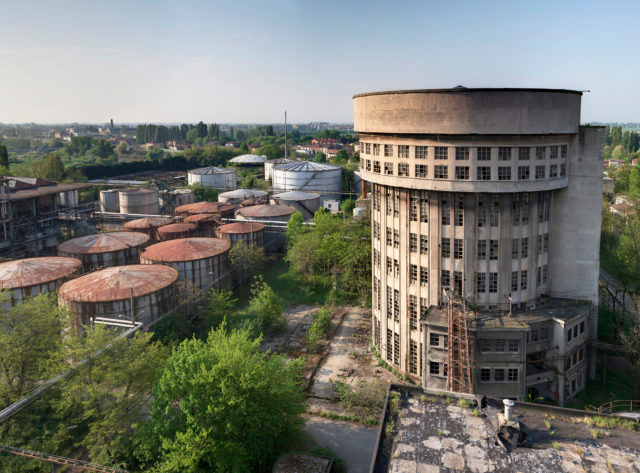 The abandoned factory of Eridania