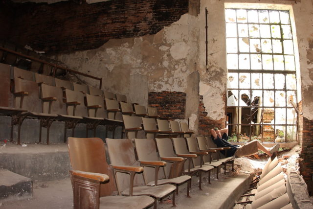 Second floor of the auditorium. Author: Kevin Key Photography | Facebook @slworking
