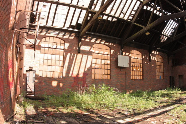 Upper floor gymnasium. Author: Kevin Key Photography | Facebook @slworking