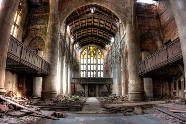 Former sanctuary. Author: Kevin Key Photography | Facebook @slworking