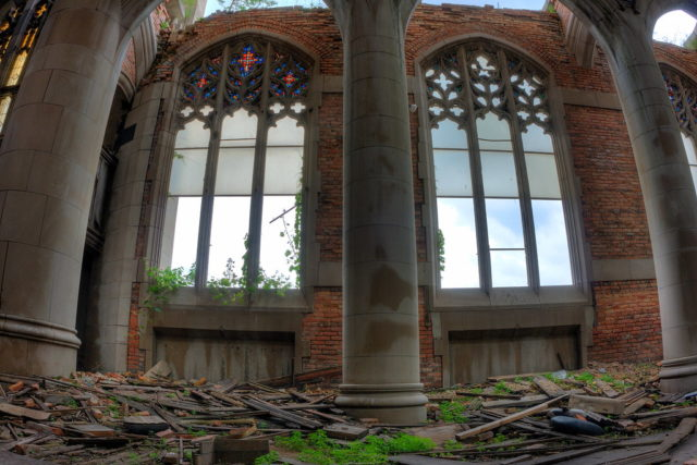 Stained glass windows. Author: Kevin Key Photography | Facebook @slworking