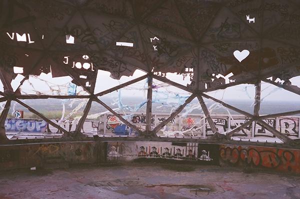 The view from inside. Author: Lukas Chmiel | www.lukaschmiel.com