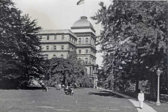 Main Building, New Jersey State Hospital, Greystone Park, N. J. Author: Mennonite Church USA Archives