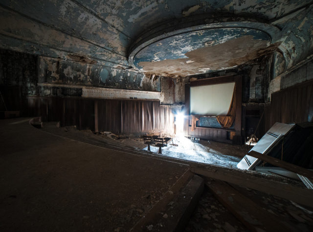 Former lecture hall. Author: Johnny Joo | architecturalafterlife.com