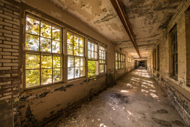 """White Hall"". Author: Walter Arnold Photography – Art of Abandonment   www.TheDigitalMirage.com"