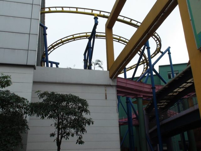 Portion of roller coaster. Authot: David290