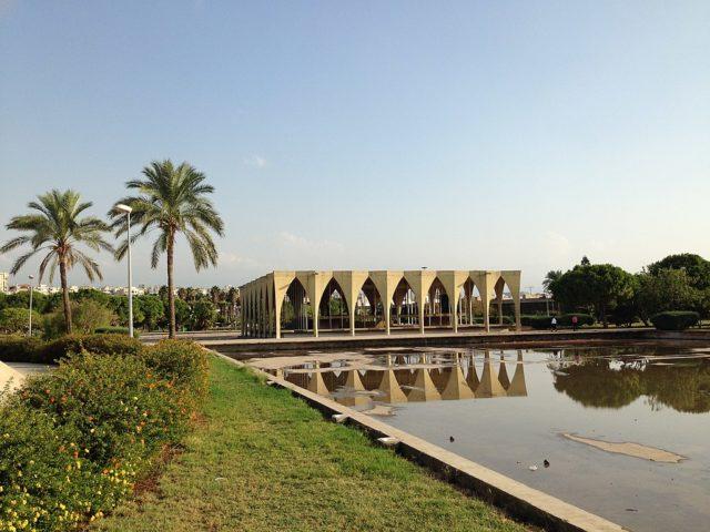 The Lebanese pavilion. Author: RomanDeckert – CC BY-SA 4.0
