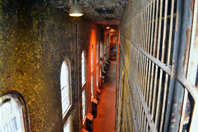 East cell block. Author: Mike | Flickr CC BY-ND 2.0