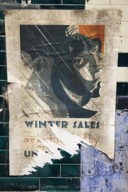 Winter sales poster. Author: Paul Dykes | Flickr @paulodykes