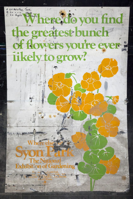 1970s Syon Park poster. Author: Paul Dykes | Flickr @paulodykes