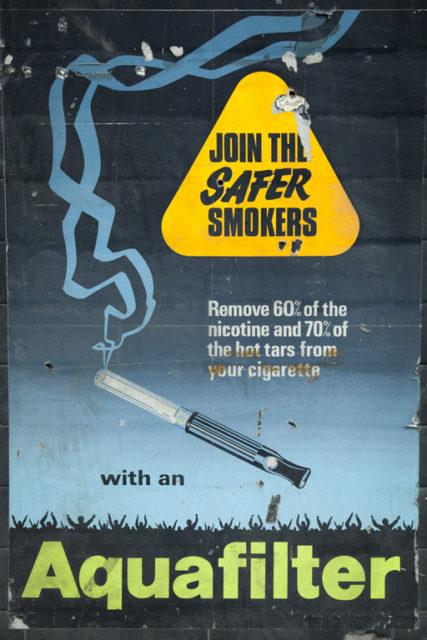 1970s Aquafilter poster. Author: Paul Dykes | Flickr @paulodykes