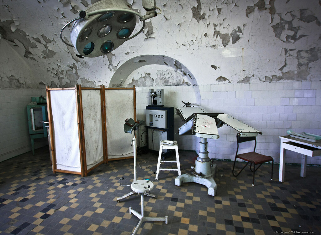 Room for surgeries and medical department. Author: Alexey Grachev | LiveJournal @alexdoomer2009