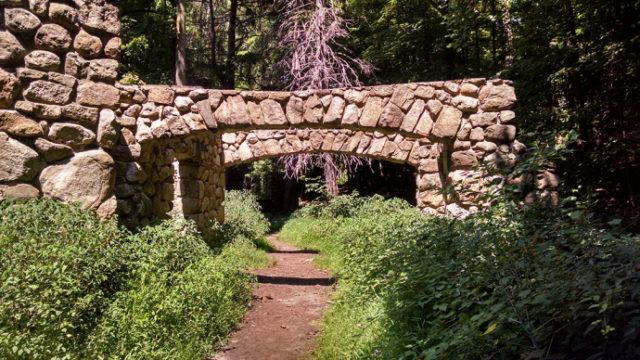 The driveway. Author: Gin Minsky   minskysabandoned.com