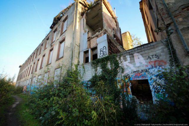 Remains of the main building. Author: Alexander | Livejournal @technolirik
