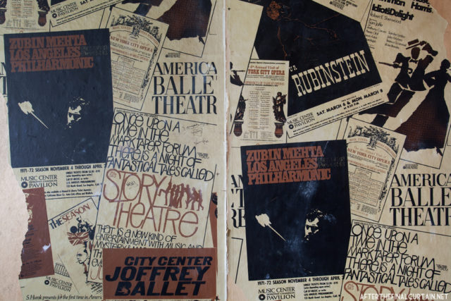 Old theater magazines. Author: Matt Lambros | afterthefinalcurtain.net