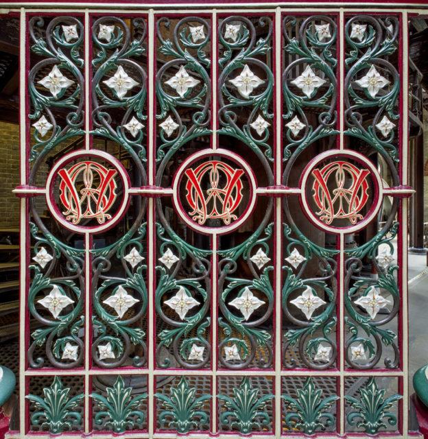 Decorative panel. Author: Matt Emmett | Facebook @ForgottenHeritagePhotography