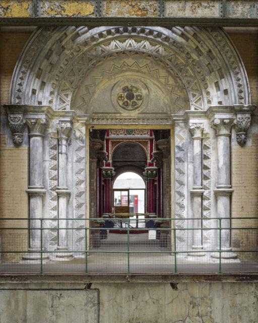 Ornate portal. Author: Matt Emmett | Facebook @ForgottenHeritagePhotography