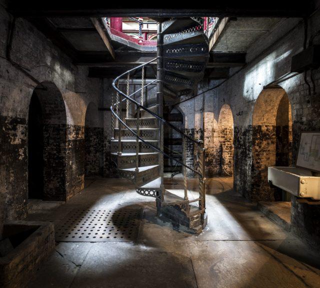 Spiral Stair. Author: Matt Emmett | Facebook @ForgottenHeritagePhotography
