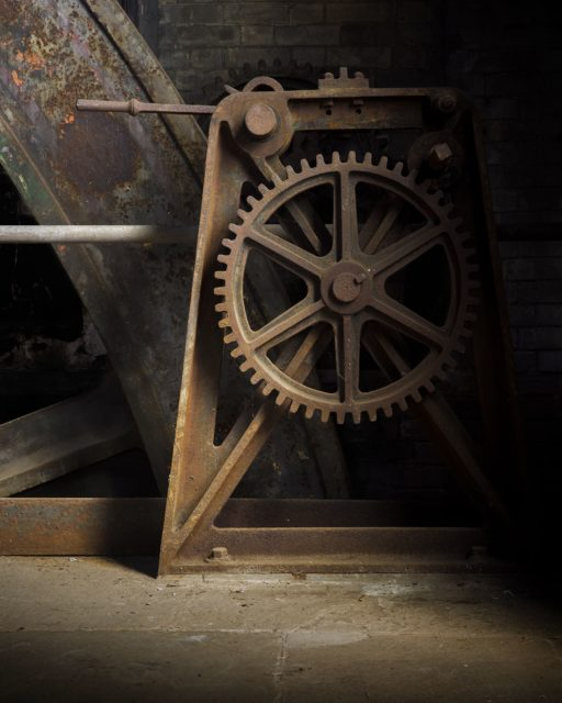 Wheel. Author: Matt Emmett | Facebook @ForgottenHeritagePhotography
