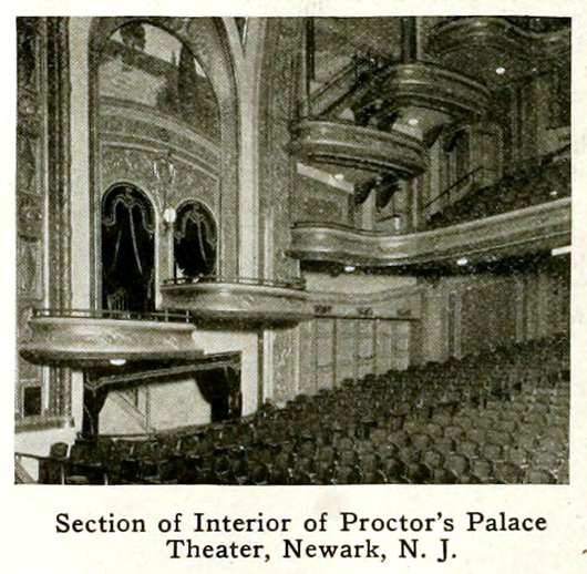 Proctor's Palace, Newark, New Jersey in 1916 – MvPW Jan – Interior – CC BY 2.0
