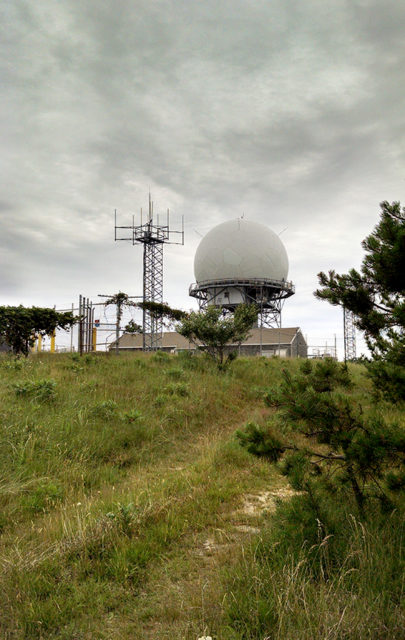 Radar station still in use today. Author: Gin Minsky – www.GinMinsky.com