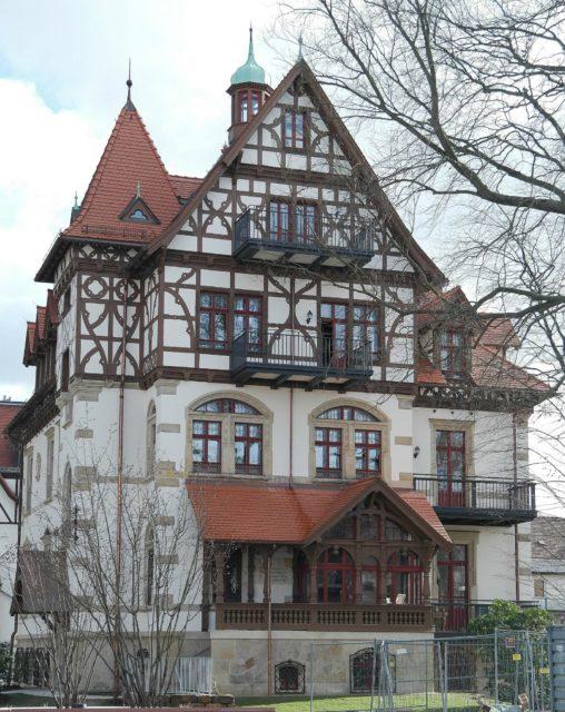 Dr. Lahmann Park. Wikimedia – Bybbisch94 Christian Gebhardt – Eigenes Werk, CC BY-SA 4.0 Dresden