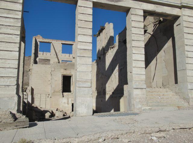 Cook Bank Building Ruins. Author: John Schrantz | Flickr @mytravelphotos