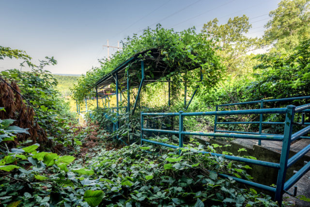 Forgotten funicular. Author: Walter Arnold Photography – Art of Abandonment | www.TheDigitalMirage.com
